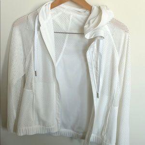 Lulu Lemon breathable cropped hooded Jacket